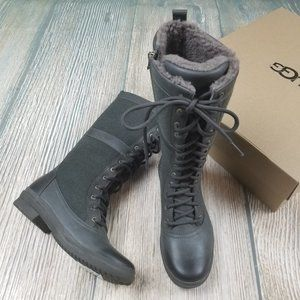 New UGG green waterproof tall boots